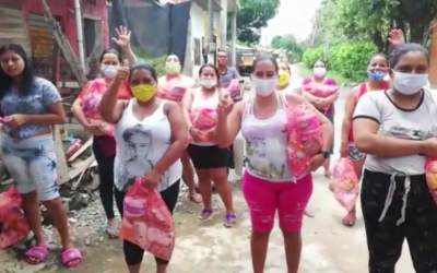 Contestando tu Oración dona alimentos en Antioquia, Colombia