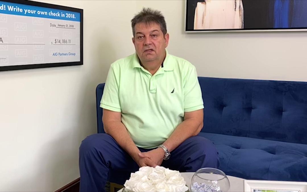 Ricardo Ortega, sobreviviente de cáncer, nos cuenta su experiencia con un seguro de vida