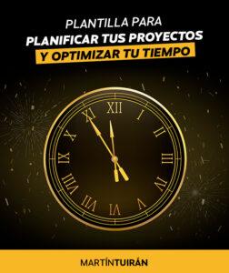 Plantilla para planificar proyectos y optimizar el tiempo