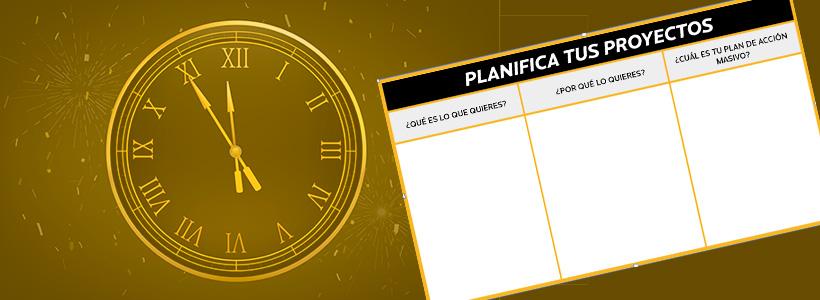 Aprende a planificar proyectos y optimizar tu tiempo [PLANTILLA GRATIS]