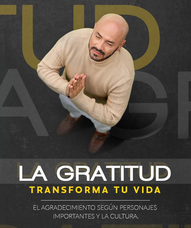 Guía de la gratitud según personajes y la cultura